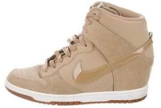 56deec465d Woman Wedge Sneakers Nike - ShopStyle