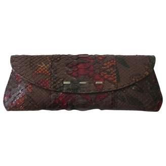VBH Python Clutch Bag
