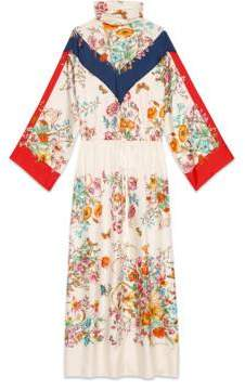 Gucci Silk dress with floral print