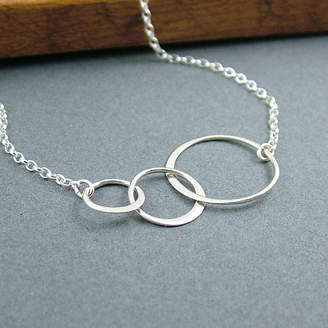 4bd85d0da Wished For Sterling Silver Eternity Circle Necklace