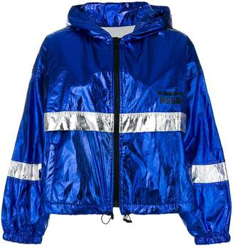 MSGM colour-block zipped jacket