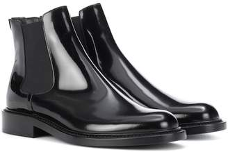 Saint Laurent Patent leather Chelsea boots