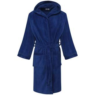 My Mix Trendz Boys Kids Pure 100% Egyptian Cotton Nightgown Hooded Hood Bathrobe with Pockets