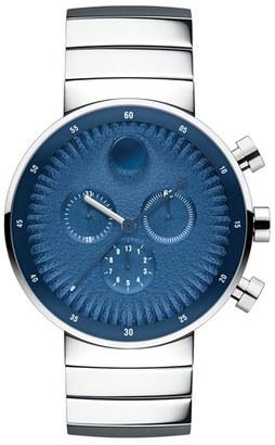 Movado 'Edge' Chronograph Bracelet Watch, 40Mm $1,095 thestylecure.com