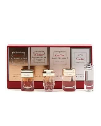 Cartier Four-Piece Fragrance Set for Women