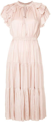 Ulla Johnson tiered ruffle dress