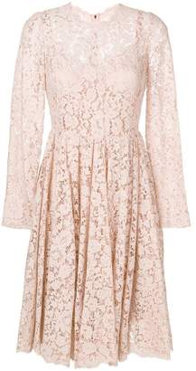 Dolce & Gabbana lace skater dress