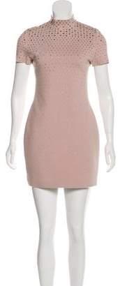 Christian Dior Embellished Mini Dress