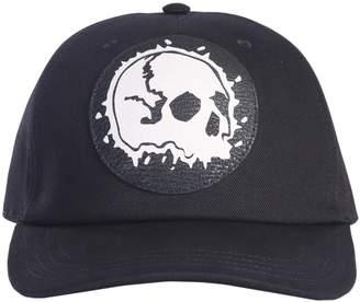 Alexander McQueen Darned Skull Hat