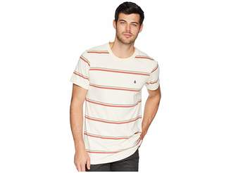Volcom Sheldon Crew Short Sleeve Knit Top Men's Clothing