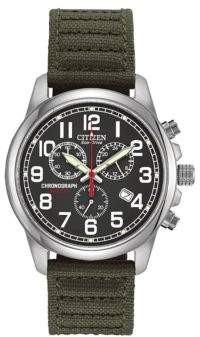 Citizen Eco-Drive Stainless Steel Chronograph