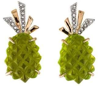 Alexis Bittar Pineapple Clip-On Earrings