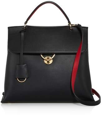 Salvatore Ferragamo Jet Set Top Handle Leather Bag
