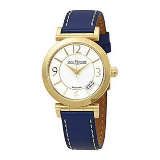 Saint Honore Women's 'Opera' Swiss Quartz Stainless Steel and Leather Casual Watch