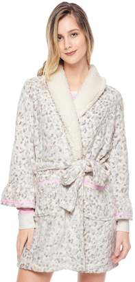 Juicy Couture Plush Leopard Robe
