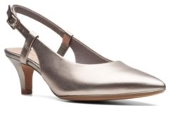 Clarks Collection Women's Linvale Loop Slingback Pumps Women's Shoes