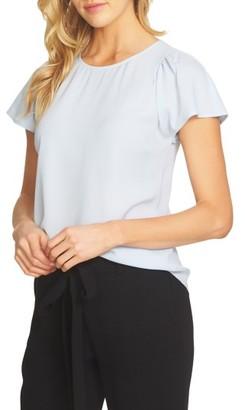 Women's Cece Flutter Sleeve Blouse $69 thestylecure.com