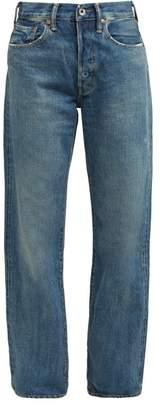 Chimala Loose Leg Selvedge Denim Jeans - Womens - Denim