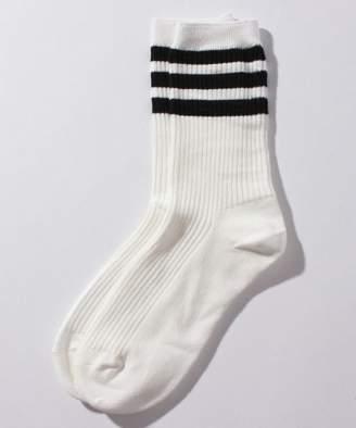 CECIL McBEE (セシル マクビー) - CECIL McBEE ボーダースポーティー靴下