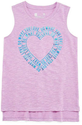 Xersion Graphic Muscle Tank Top - Girls' Sizes 4-16 and Plus