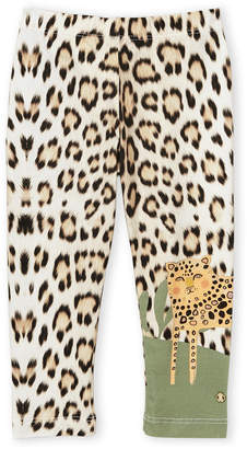 Roberto Cavalli Junior (Toddler Girls) Leopard Print Leggings