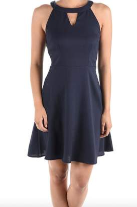 Aryeh Fit & Flare Dress