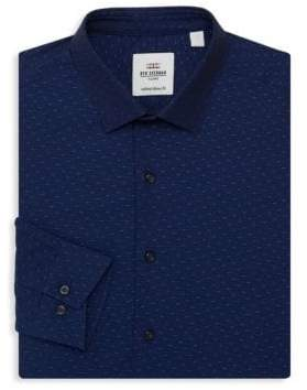 Ben Sherman Slim-Fit Patterned Dress Shirt