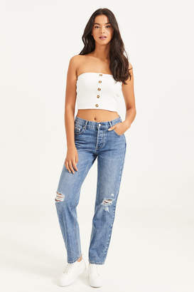 Ardene Slouchy Ripped Jeans