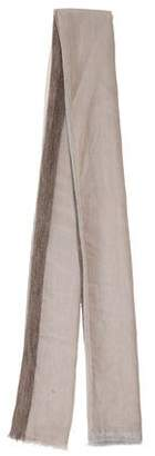 Fabiana Filippi Raw-Edge Wool Scarf