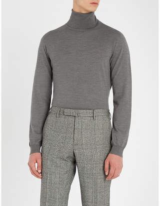SLOWEAR Turtleneck flexwool knitted jumper