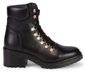 Grenada Lace-Up Leather Hiker Boots