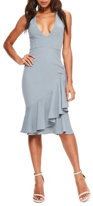 Women's Missguided Sleeveless Crepe Dress $98 thestylecure.com