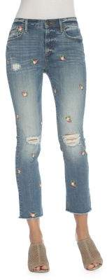 Driftwood Candace Buds Embroidered Jeans