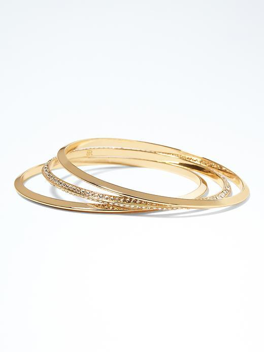 Modern Architecture Bangle Set