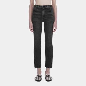 Alexander Wang Domestic Ride Jean in Grey Fade