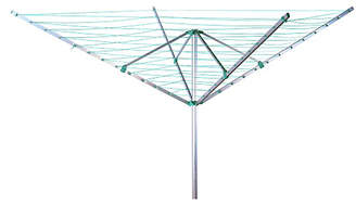 Beldray 50m 4-Arm Outdoor Rotary Airer