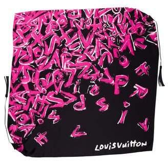 Louis Vuitton Triangle Tassel Scarf