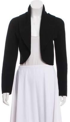 Donna Karan Cashmere Knit Bolero Black Cashmere Knit Bolero