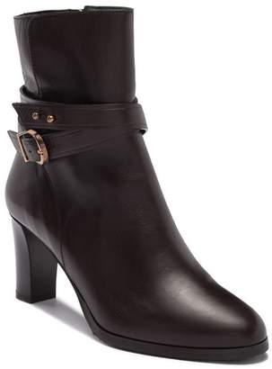 LK Bennett Josie Heeled Leather Bootie