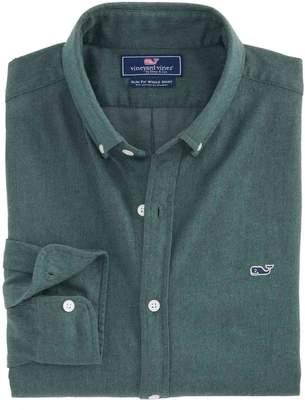 Vineyard Vines Crafts Field Flannel Slim Whale Shirt