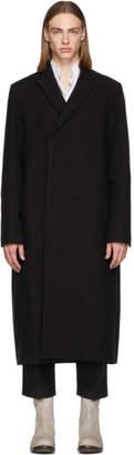 Rick Owens Black Long Bell JMF Jacket