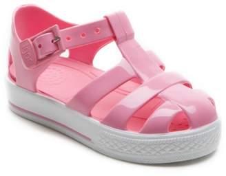 Igor Kids Tennis Pink Jelly Sandals