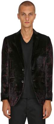 Etro Paisley Viscose & Silk Satin Jacket