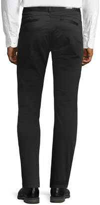 Karl Lagerfeld Paris Paneled Stretch-Cotton Chino Pants