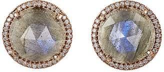 Irene Neuwirth Women's Mixed-Gemstone Circular Studs