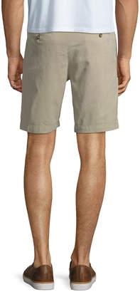 Tailorbyrd Garment-Dye Twill Shorts
