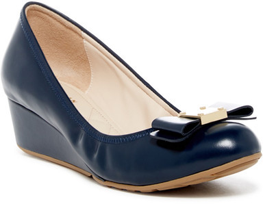 Cole Haan  Cole Haan Tali Grand Bow Wedge Pump