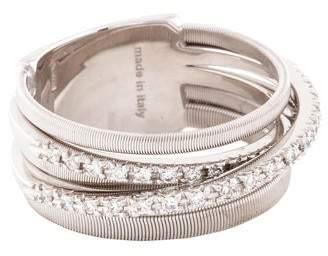 Marco Bicego 18K Diamond Goa Five Strand Crossover Ring