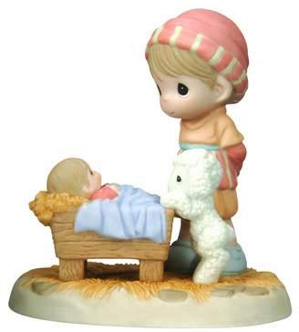 "Precious Moments Come Let Us Adore Him"" figurines"