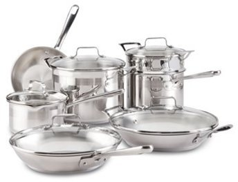 Emerilware Emeril from All-Clad 12-pc. Chef's Stainless Cookware Set